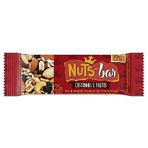 Barra de Castanhas e Frutas Nuts-Bar 25g