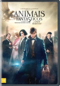 ANIMAIS FANTÁSTICOS E ONDE HABITAM DVD