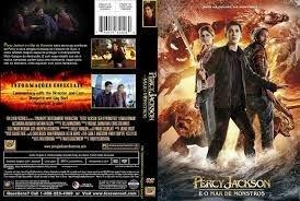 PERCY JACKSON E O MAR DE MONSTROS DVD