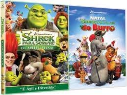 SHREK PARA SEMPRE E SHREKTACULAR DO BURRO DVD DUPLO