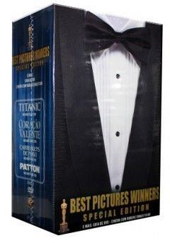 BEST PICTURES WINNERS SPECIAL EDITION 4 DVDS + GUIA DE DVD 2006