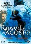 RAPSÓDIA EM AGOSTO DVD