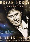 BRYAN FERRY IN CONCERT LIVE IN PARIS DVD