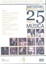 SATURDAY NIGHTLIVE 25 ANOS DE MUSICA VOLUME 4 DVD