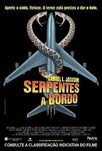 SERPENTES A BORDO DVD
