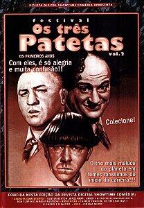 FESTIVAL OS TRÊS PATETAS VOL.2 DVD