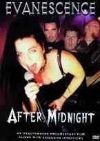 EVANESCENCE AFTER MIDNIGHT DVD