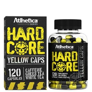 Hardcore Yellow Caps (120caps) - Atlhetica Nutrition