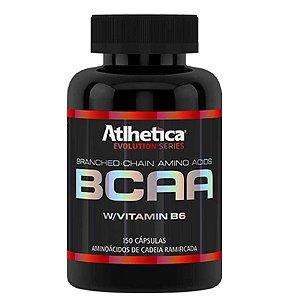 Bcaa c/Vitamina B6 (150caps) - Atlhetica Nutrition