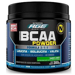 BCAA Powder (200g) - Nutrilatina AGE