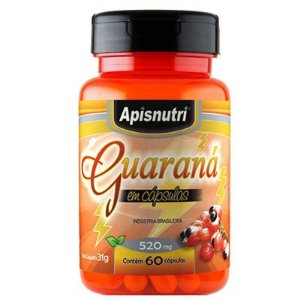 Guarana 520mg ( 60caps) - Apisnutri