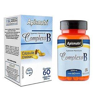 Complexo B 250mg (60caps) - Apisnutri