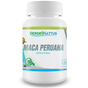 Maca Peruana (120caps) - Verde Nattus