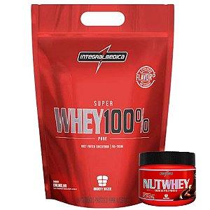 Super Whey 100% Pure (1,8kg) - Integralmedica [GRATIS NUTWHEY]