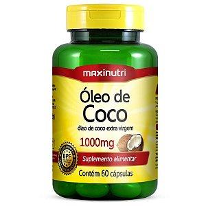 Oleo de Coco (60caps) - Maxinutri