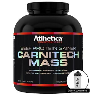 Carnitech Mass (3kg) - Atlhetica Nutrition [GRATIS COQUETELEIRA]