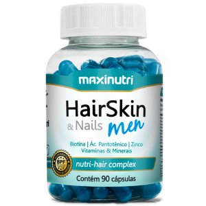 HairSkin Men (90caps) - Maxinutri
