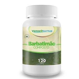 Barbatimão Composto (120caps) - Verde Nattus