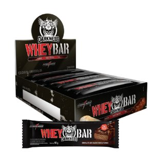 Whey Bar Darkness (8un) - Integralmedica
