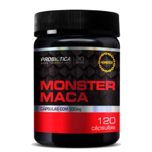 Monster Maca (120caps) - Probiótica