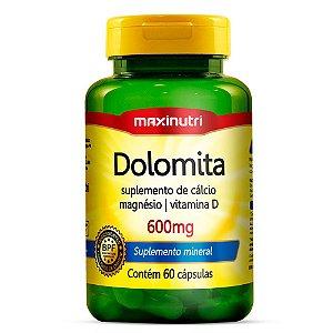 Dolomita 600mg (60caps) - Maxinutri