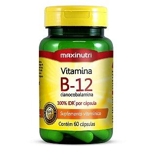 Vitamina B12 (60caps) - Maxinutri