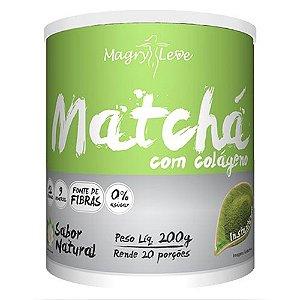 Matchá com Colágeno (200g) - Apisnutri