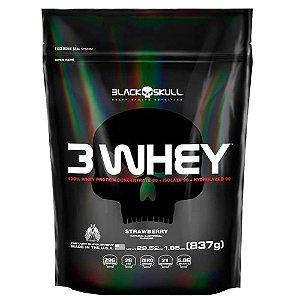 3 Whey (830g) - Black Skull