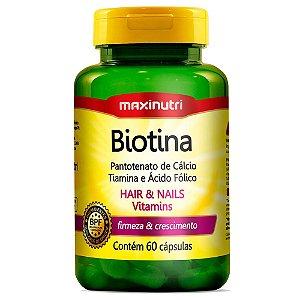 Biotina (60caps) - Maxinutri
