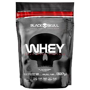 Whey 100% Refil  (837g) - Black Skull