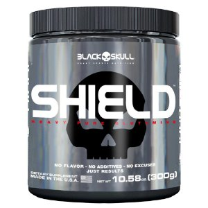 Shield (300g) - Black Skull
