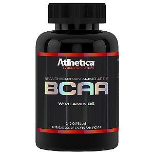 Bcaa c/Vitamina B6 (240caps) - Atlhetica Nutrition