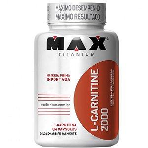 L-Carnitine 2000 (120caps) - Max Titanium