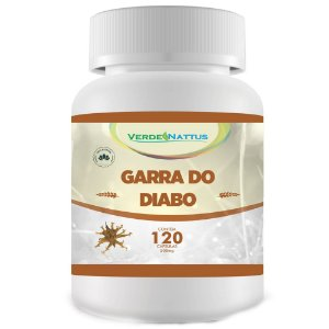 Garra do Diabo 500mg (120caps) - Verde Nattus