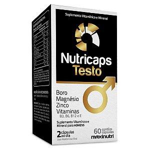 Nutricaps Testo (60caps) - Maxinutri