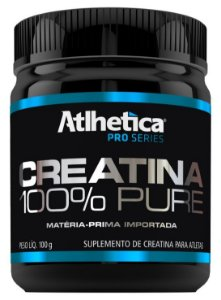 Creatina 100% Pure (100g) - Atlhetica