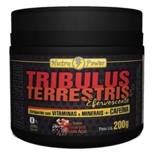 Tribulus Terrestris Com Cafeína (200g) - Nutri Power