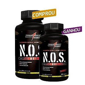 N.O.S Vasodilatador (160tabs) - Integralmedica [ COMPRE UM GANHE OUTRO ]