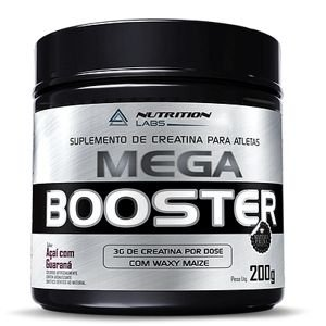 Mega Booster (200g) - Nutrition labs
