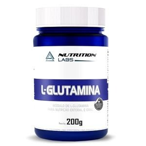 L-Glutamina (200g) - Nutrition Labs
