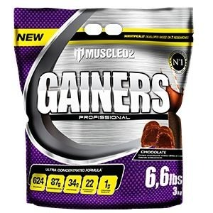Gainers Profissional (3kg) - Muscled2