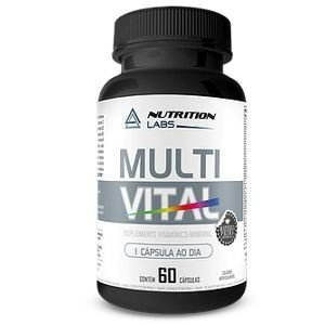 Multi Vital ( 60caps) - Nutrition Labs
