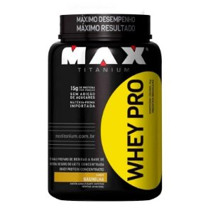Whey Pro (1000g) - Max Titanium