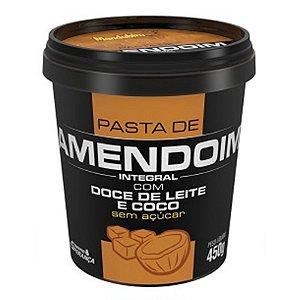 Pasta de Amendoim Com Doce De Leite e Coco (450g) - Mandubim