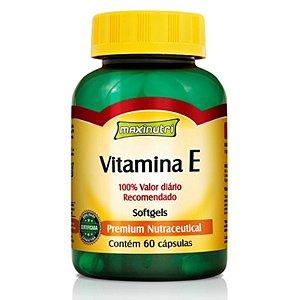 Vitamina E (60caps) - Maxinutri