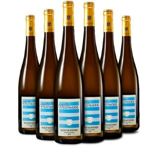 Kit com 6 garrafas: 95 pts. JS - Wittmann Westhofener Riesling trocken Premier Cru