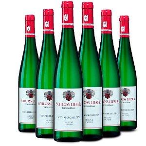 Kit com 6 garrafas de Schloss Lieser Niederberg Helden Riesling Spätlese