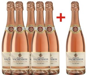 Kit Espumante Sekt rosé 5+1