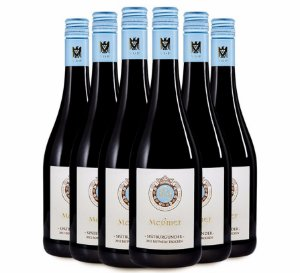 Kit Messmer Pinot Noir seco 2012 com 6 garrafas - Pronto para beber!