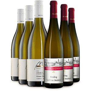 Kit para harmonização com Bacalhau: Riesling & Pinot Gris